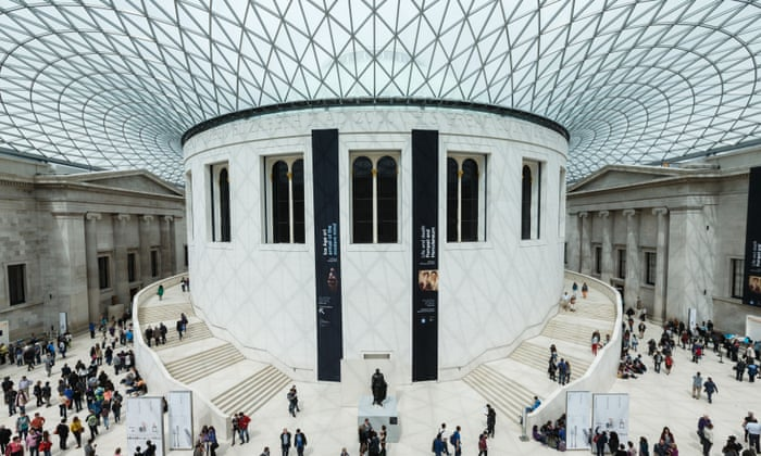 The British Museum in London (c) photograph: John Walton/PA